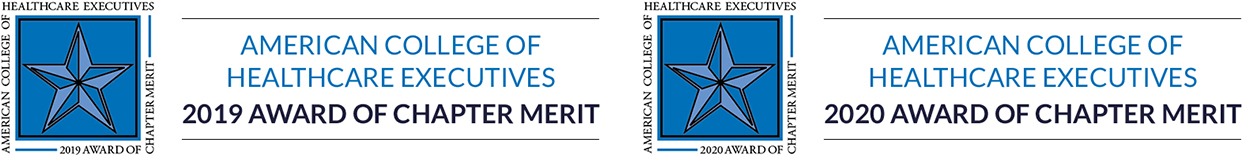 American College of Healthcare Executives 2020 Award of Chapter Merit